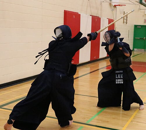 Kendo sparring