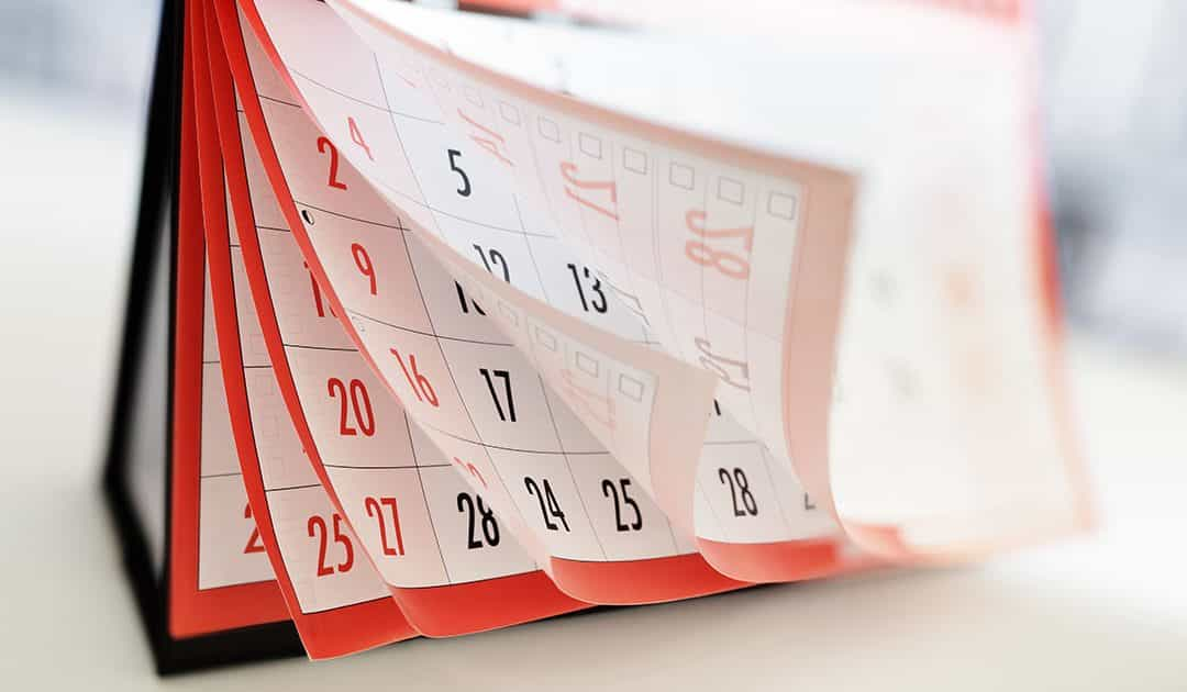 Updated Events Calendar