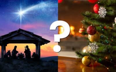 Baby Jesus' First Christmas Tree